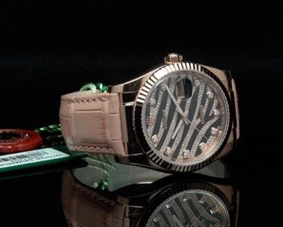 damen rolex mit diamanten